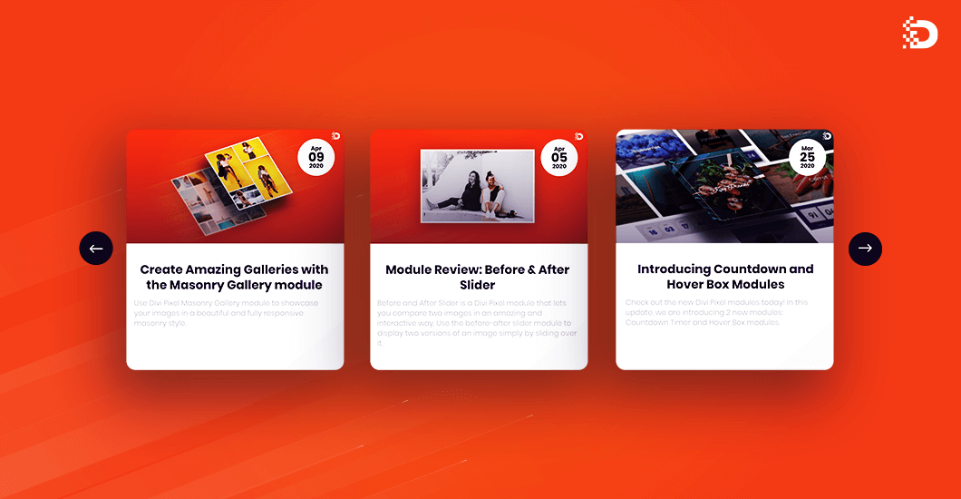 The Brand New Blog Slider Module Is Here!