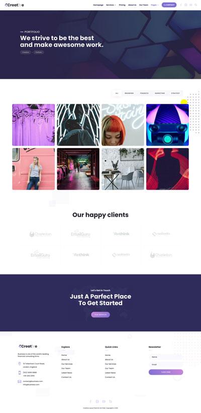 Creative Layout Pack Portfolio