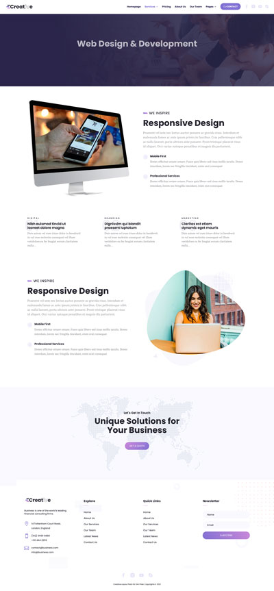 Creative Layout Pack Service v1