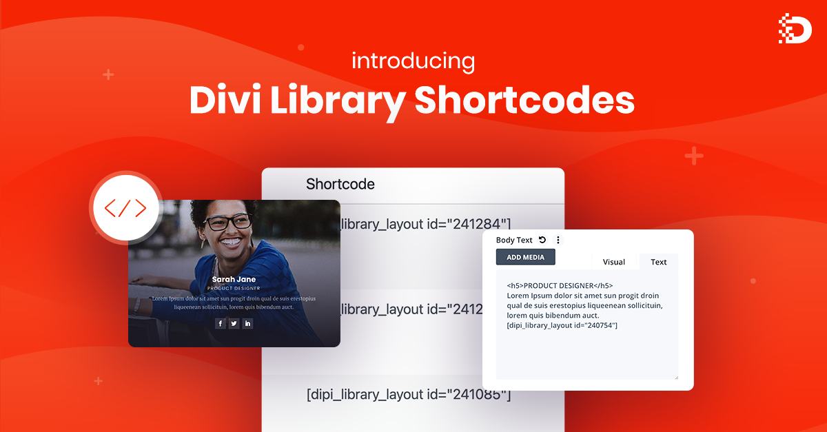 Introducing Divi Library Shortcodes
