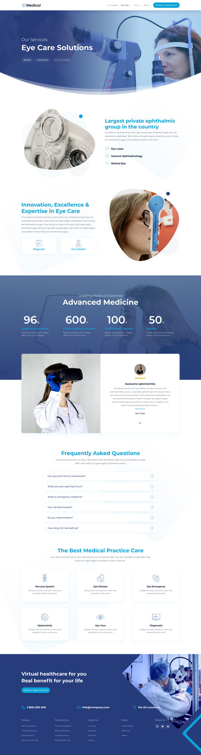 Medical Layout Pack